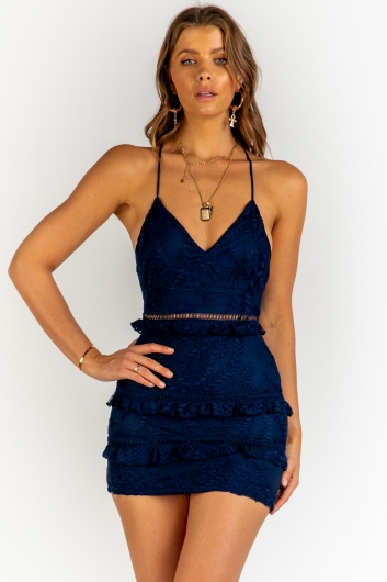 Can't Afford To Dress - Navy