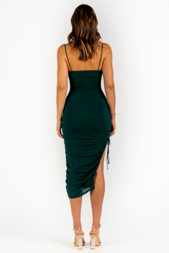 Watch Out Dress - Green