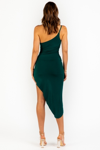 Dark Of Night Dress - Green