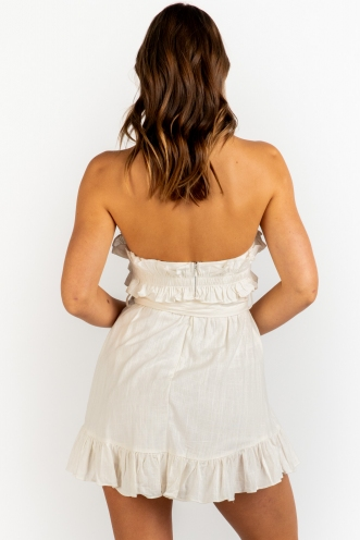 Love Arrow Dress - White