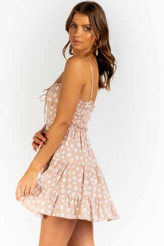 Might Be Time Dress - Pink Floral