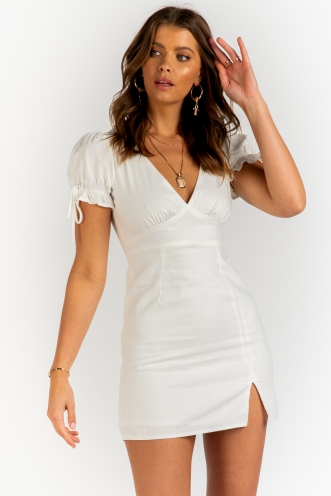 Number One Dress - White