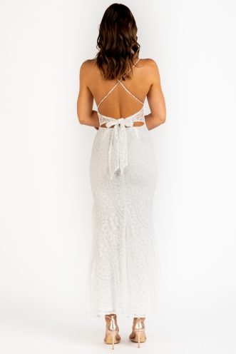 Love And Affection Dress - White