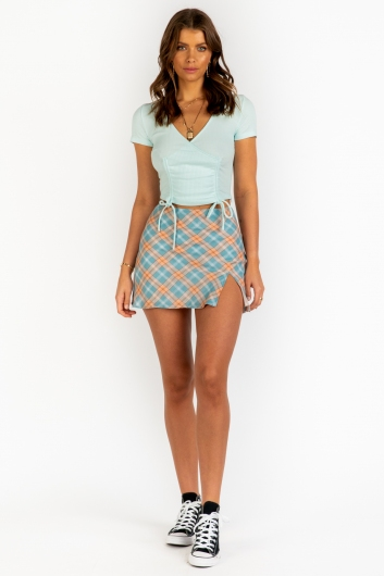 Summer In Rome Top- Mint