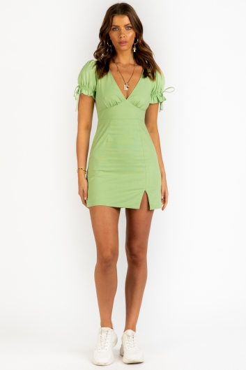 Number One Dress - Green