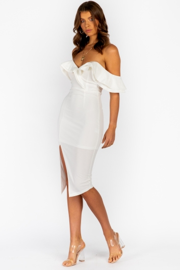 Tabetha Dress - White