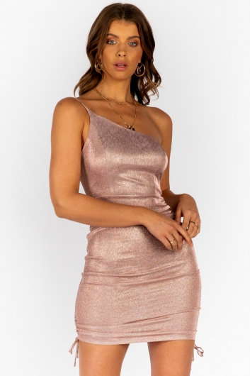 Fallen Angel Dress- Gold