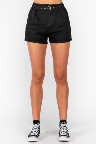 Vienna Short Black Denim