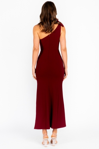 Unrequited Love Maxi Dress Maroon