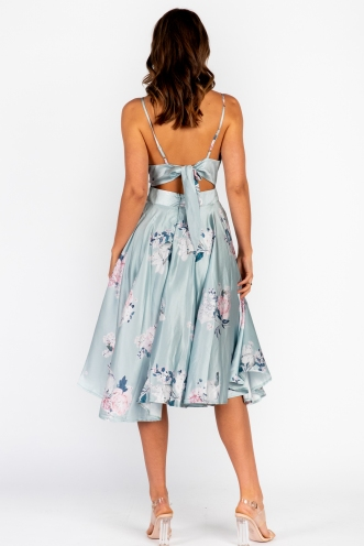 Risk It Dress Mint Floral