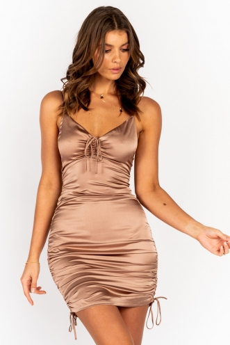 Serpia Dress Beige