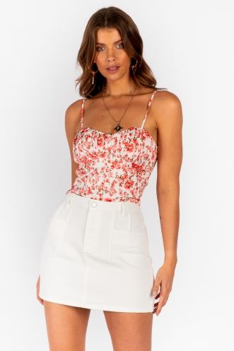 Sunny Top Pink Floral