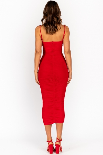 Neri Dress Red