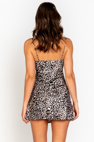 Calla Dress Leopard Print