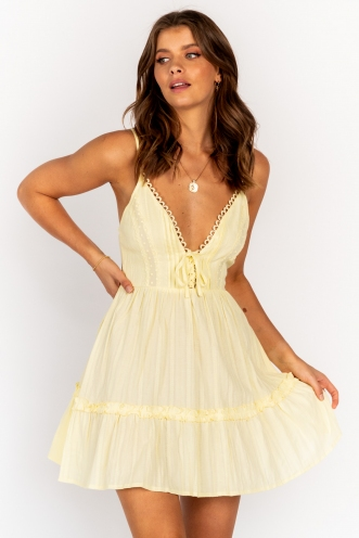 Savannah Dress Yellow