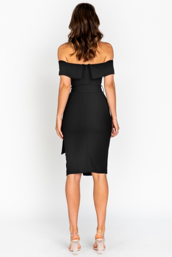 Maryanne Dress-Black