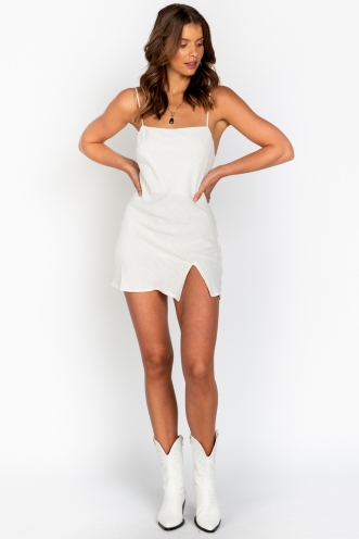 Tippi Dress White