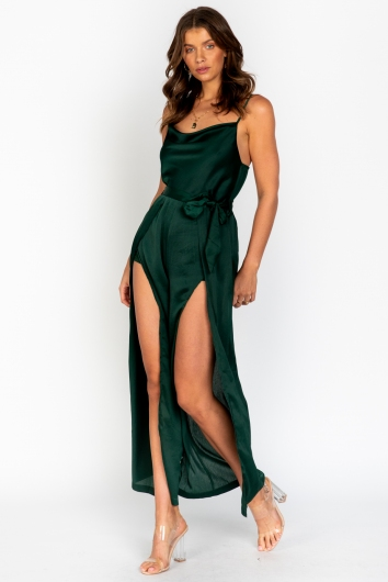Starstruck Jumpsuit Green