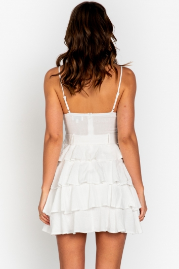 Allday Dress White