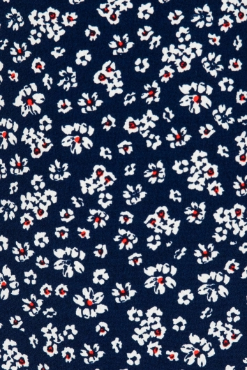 Cade Dress Navy Floral
