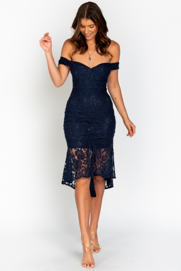 Call Me Out Dress Navy