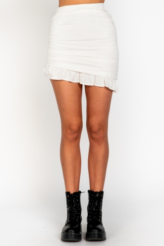 Ace Skirt White