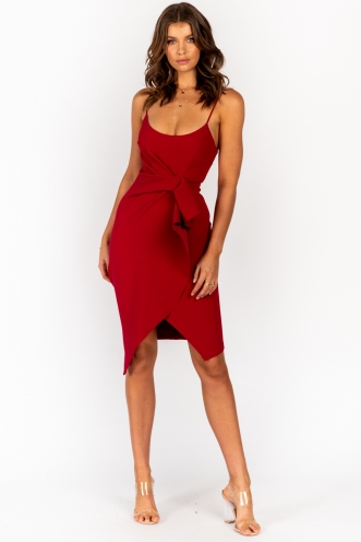 Teenage Crime Dress Red