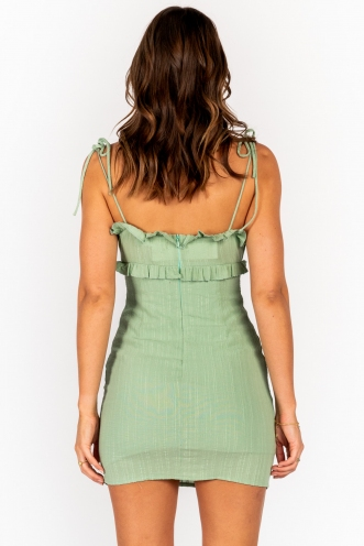Pursuit Dress Sage