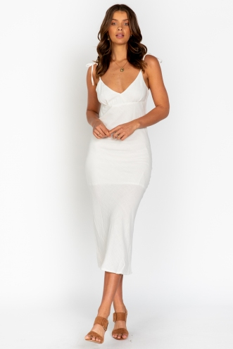 Millie Dress White