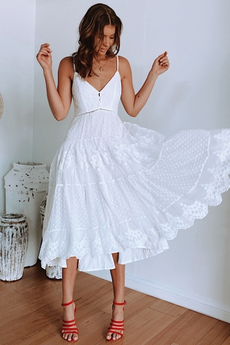 Lost Girl Dress White