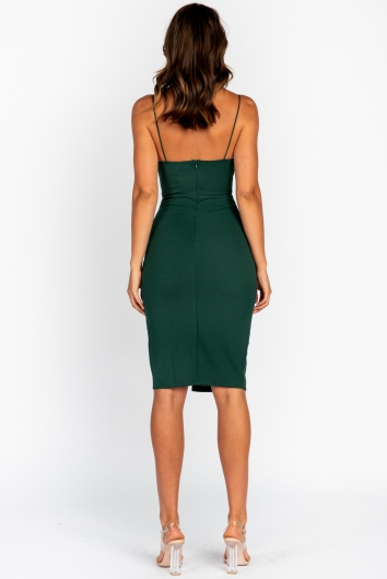 Connect Dress Green