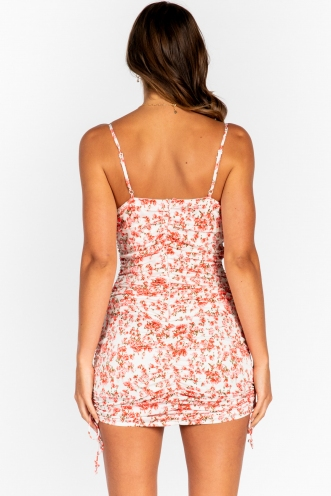 Coconut Dress Pink Floral