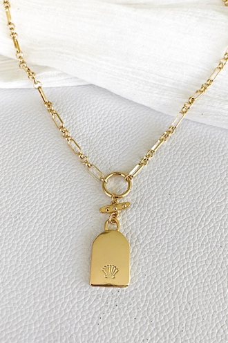 Escape Chain Necklace Gold
