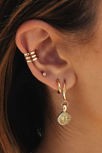 Palm Ear Cuff Gold