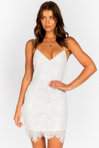Marisa Dress - White