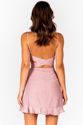 Angela Dress - Pink