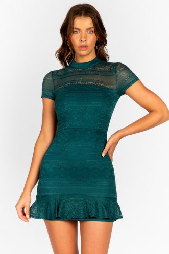 Capri Dress - Forest Green