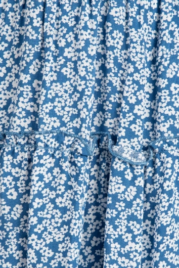 Empire Dress Blue Floral