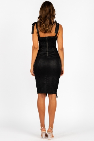 Undecided Dress Black
