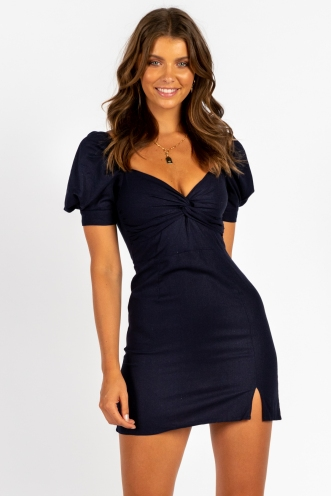 Ms Jackson Dress Navy