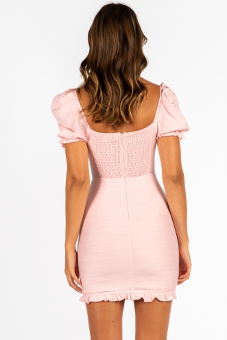 Make It With You Dress Pink