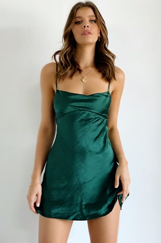 Calla Dress Green