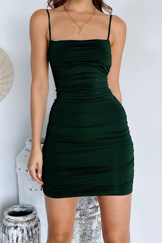 Sephia Dress Green