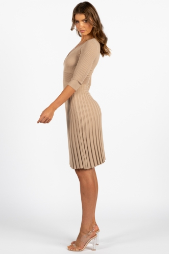 Jal Dress Beige