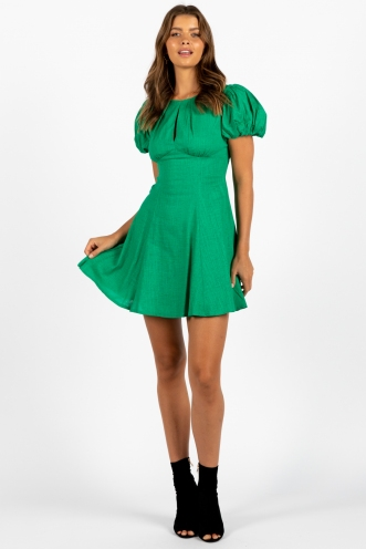 Milan Dress Green