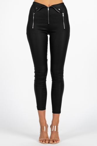 Not Sorry Leggings - Black
