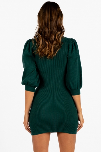 Mary Dress Green