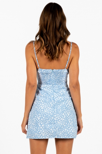 Therapy Dress Blue Floral
