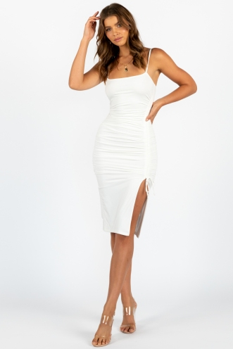 Zandra Dress White