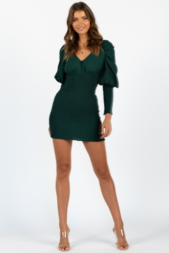 Teenage Lust Dress Green